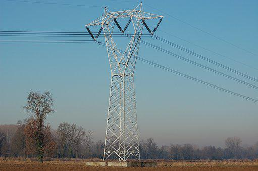 Lattice, High Voltage, Trellises, Energy, Electric