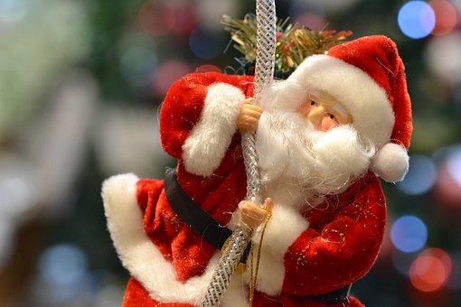 Santa, New Year, Christmas, Holiday, December