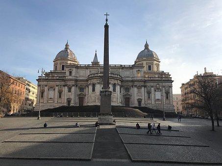 Rome, Italy, Church, Catholic, Europe, Tourism