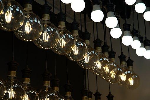 Light, Light Bulb, Energy, Lamp, Current, Idea