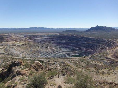 Mine, Open Pit, Mining, Large, Landscape, Open, Pit
