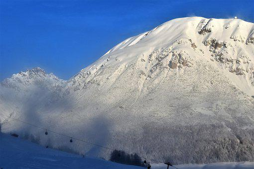 Snow, Landscape, Winter, Nature, Mountains, Wintry