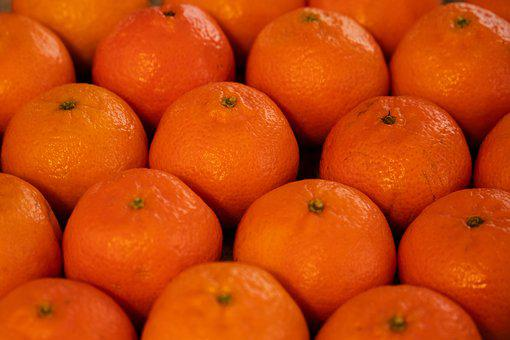 Clementine, Mandarin, Food, Orange, Vitamins, Nutrition