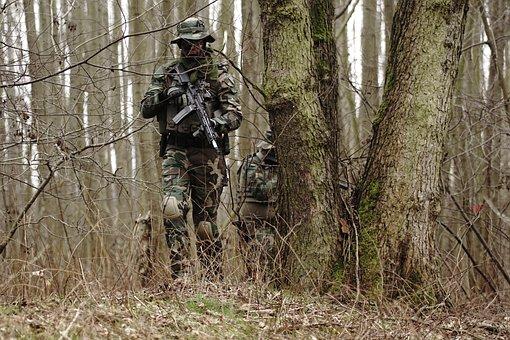 Airsoft, Replica Airsoft, Asg, Tactical, Rifle, Specna
