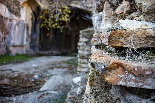 Cave, Old, Structure, Architecture, Izmir, Seven