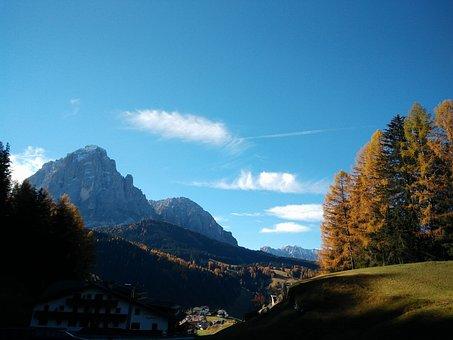 Mountain, Landscape, Mountains, Nature, Alps, Sky