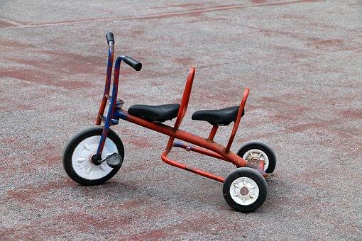 Tricycle, Bike, Sport, Children, Toys, Trike, Childhood