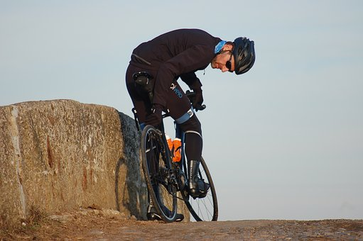 Cyclist, Winter, Fitness, Sports, Cyclists