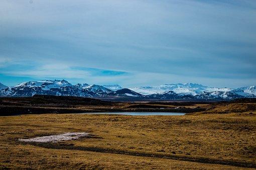 Stykkishólmur, Iceland, Helgafell, Winter, Mountain