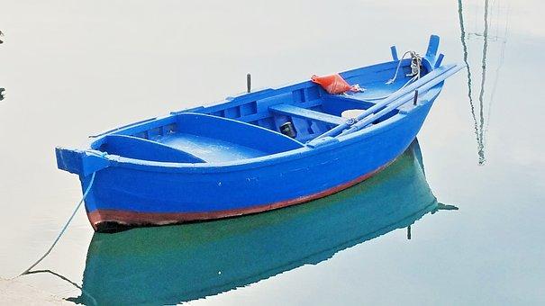 Boat, Bari, Italy, Porto, Colorful, Summer, Relaxation
