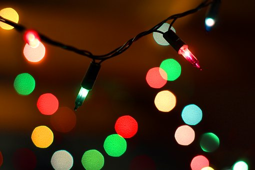 Christmas, The Lights, Christmas Tree, Holidays, Light