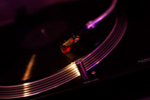 Music, Turntable, Vintage, Retro, Dj, Disco, Vinyl