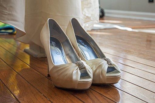 Wedding, Wedding Day, Bride, Bridal, Wedding Shoes