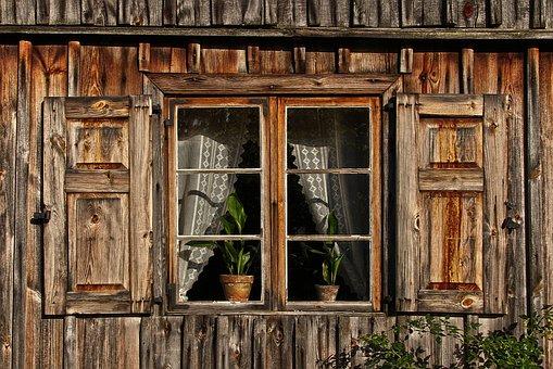 Window, Wooden Windows, Shutter, Old, Facade, Woodhouse