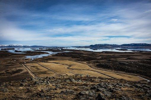 Stykkishólmur, Iceland, Helgafell, Winter, Mountains