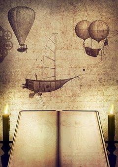 Inventions, Book, Candles, Aviation, Leonardo Da Vinci