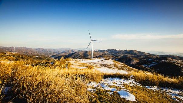 Turbine, Winter, Nature, Energy, Snow, Electricity