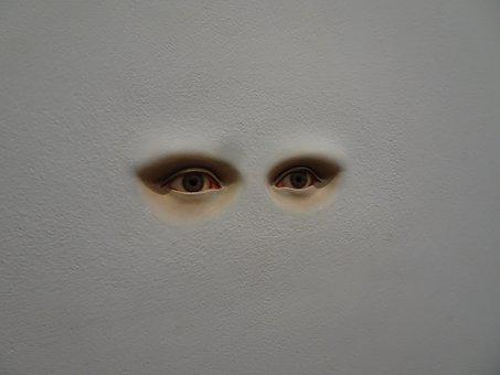 Eyes, Modern Art, Beauty, Fiction, Contemporary