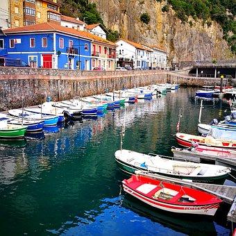 Fishing, Boats, Sea