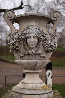 Statue, Monument, Greek Gods Figure, Marble Figure