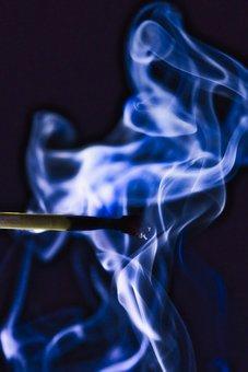 Match, Burned, Fire, Burn, Flame, Lighter, Match Head