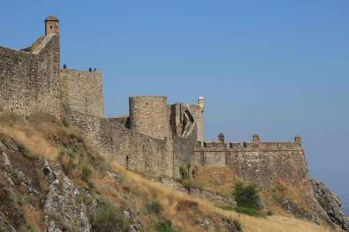 Marvão, Portugal, Rampart, Medieval Village