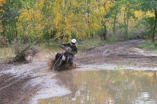 Motorcycle, Enduro, Rally, Sand, Motocross, Motorsport
