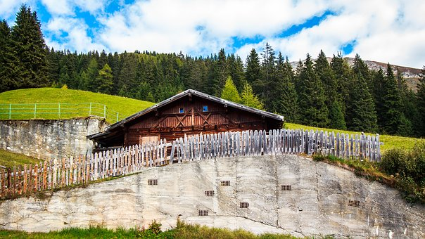Berghaus, Alpine, Mountains, Mountain Hut