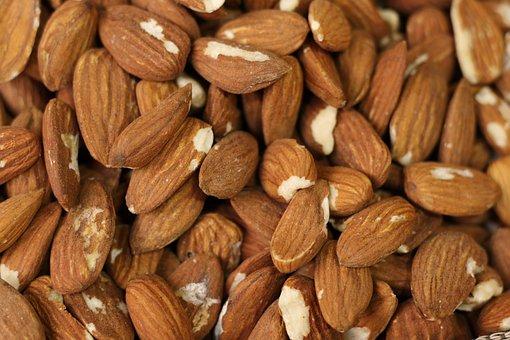 Food, Almonds, Healthy, Nutrition, Snack