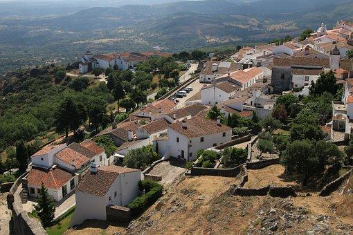 Marvão, Portugal, Medieval Village, Fortifications