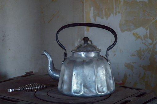 Water Boiler, Lost Place, Old, Broken, Decay, Ruin