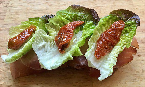 Olive Oil, Lettuce, Red Gem Lettuce, Salad