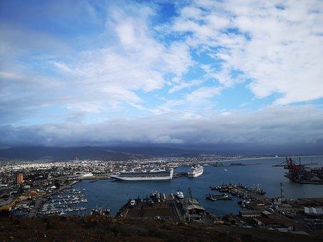 Sky, Cielo, Landscape, Clouds, Nubes, Paisaje, Cliff
