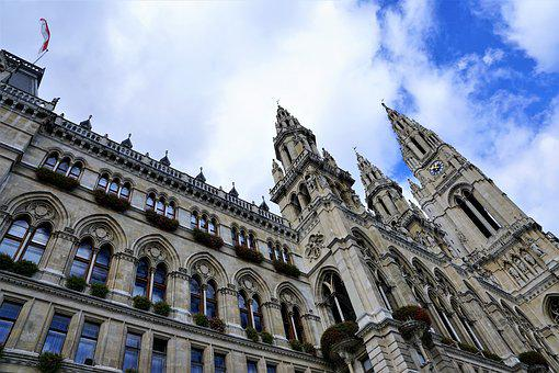 Vienna, Town Hall, City, Places Of Interest, Austria