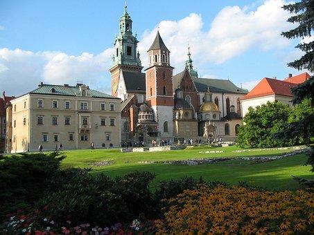 Kraków, Wawel, Poland, Castle, Tourism, Travel