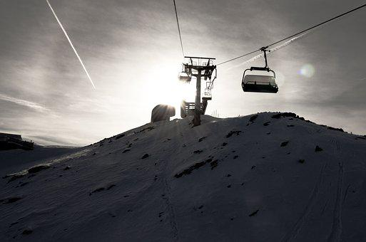 Ski, Lift, Skiing, Snow, Alpine, Winter Sports, Winter