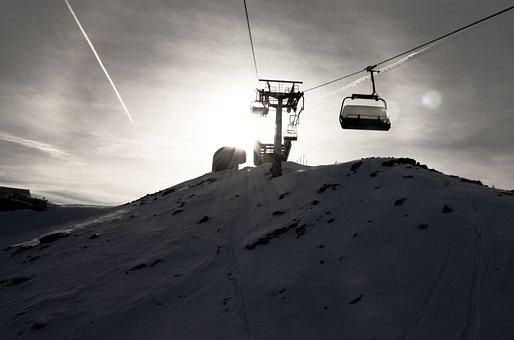 Ski, Lift, Skiing, Snow, Alpine, Winter Sports, Winter