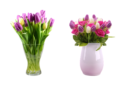 Bouquet, A Vase With A Flower, Vase, Flowers