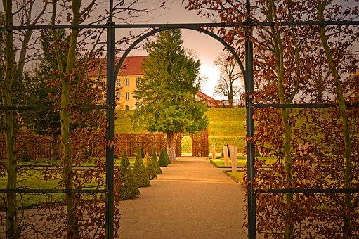 Archway, Goal, Fence, Trellis, Entry, Input, Hedge
