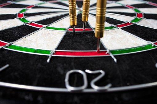 Dart, Sport, Target, Dart Board, Arrow, Competition