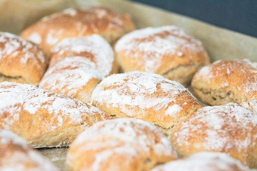 Bread, Bread Roll, B, Food, Roll, Delicious, Fresh