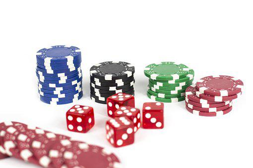 Chips, Casino, Luck, Red, Cube, Play, Risk, Gambling