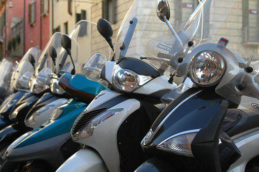 Roller, Vehicles, Motor Scooter, Vespa, Moped, Cult