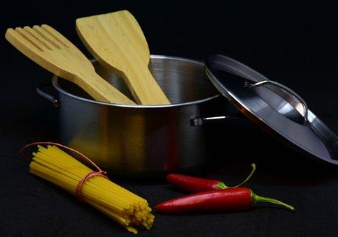 Pot, Noodles, Pasta, Food, Cook, Toys, Dolls Kitchen
