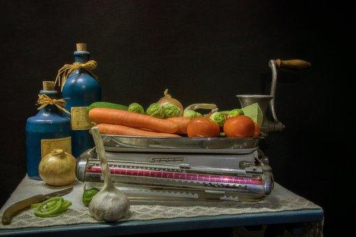 Vegetables, Kitchen, Cook, Food, Healthy, Fresh, Eat
