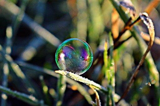 Soap Bubble, Frost Bubble, Ice Bubble, Ball
