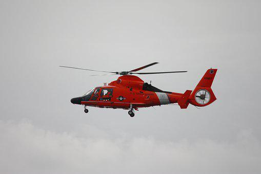 Helicopter, Coast Guard, Copter, Aviation, Emergency