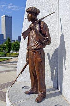 Hostility Sculpture In Tulsa, Sculpture, Hostility