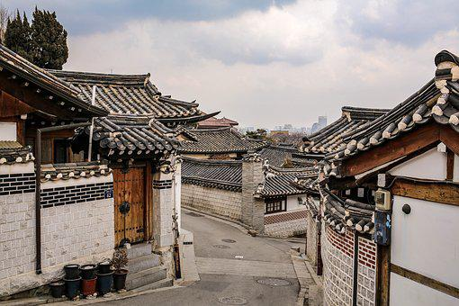 Bukchon, Hanok, Traditional, Korea, House