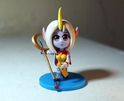 Young, Lady, Female, Soraka, Online, Video, Game